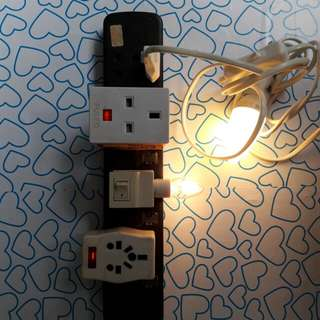 Power Extension Sockets Extension Plug Extension Cable