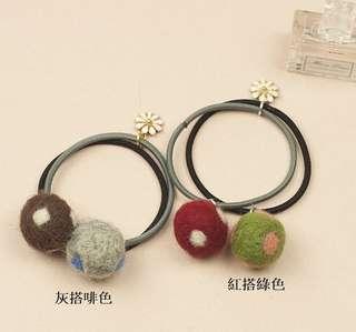 韓國款髮圈$10/1件 包本地平郵