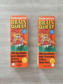 Brain Quest (Set of Deck 1 & 2, For Age 5-6)