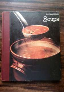 🍀SOUPS: TECHNIQUES & RECIPES FROM TIME LIFE BOOKS