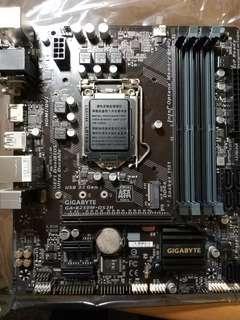 🚚 Intel第七代主機板b250m ds3h