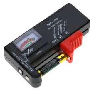 🚚 New AA/AAA/C/D/9V/1.5V Universal Button Cell Battery Volt Tester Checker