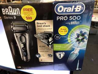 🔥Braun series9 shaver  (READ ME)