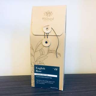 ‼️7月搬離港,暫停營業‼️ Whittard No.12 English Rose Loose Leaf Tea