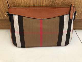 Burberry lookalike Sling Bag in Brown