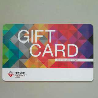 Frasers Centrepoint Gift Card with $20 value