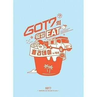 GOT7 - WORKING EAT HOLIDAY IN JEJU DVD
