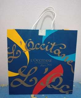 Paperbag loccitane