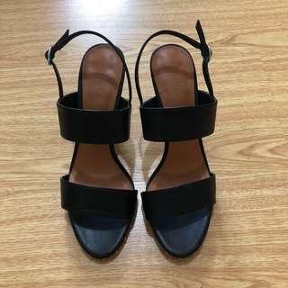 Charles & Keith Black Heels Size 39