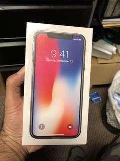 Iphone X, 256Gb.