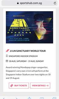 JJ Lin Singapore Concert 2018