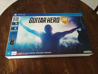 PS4 - Guitar Hero Live