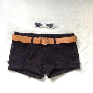 Double Vintage black shorts