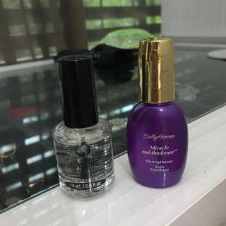 Miracle Nail Strengthener and Quick Dry Top Coat