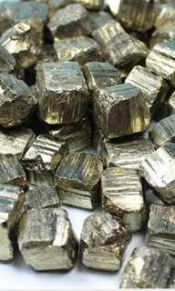 天然黃鐵礦原石(5粒)隨機發貨