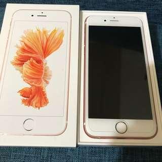 🚚 iPhone 6s 4.7 玫瑰金 128G (台積電cpu)不議價