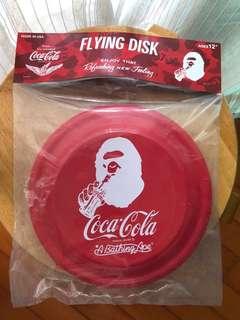 日本Bape x Coca-Cola crossover沙灘飛碟