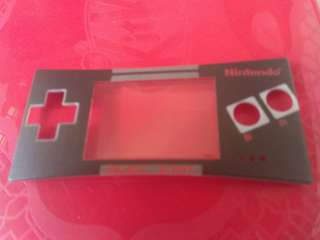 Gameboy Micro Face Plates