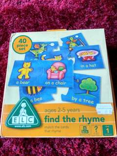 ELC Find The Rhyme