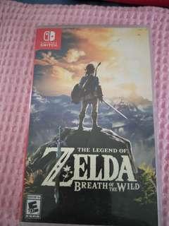 Wtt/Wts The Legend Of Zelda Breath Of The Wild