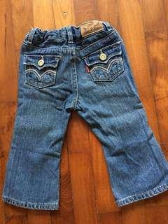 Authentic Levi's baby girl denim pants