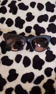 Sunnies Betty Charcoal Shades