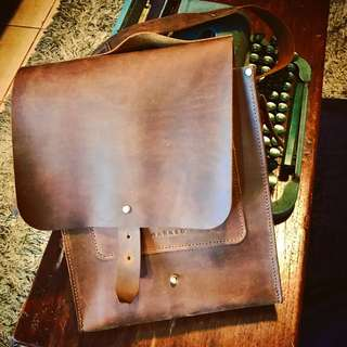 MARKED Bespoke satchel bag (for iPads and other gadgets)