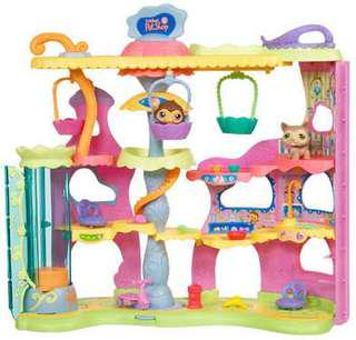 Littlest pet shop playhouse Round and Round pet town