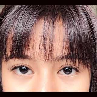 2D eyelash extensions set