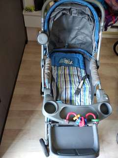 Stroller for Baby to Playgroup