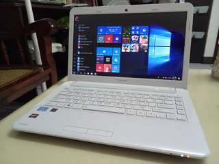 Toshiba i3/win10/4Gb/600Gb hdd/14.5inch/Gaming