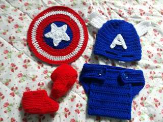 Captain America Sets 👶😍