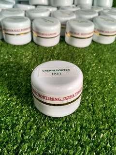 Cream DOKTER _A2 / night whitening dosis tinggi ( termurah )