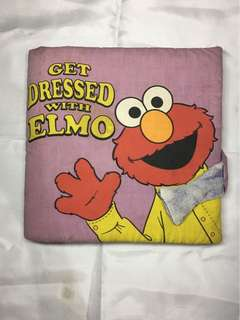Get Dressed with Elmo Educational Baby Book