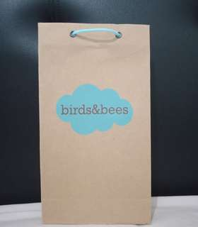 Paperbag birds & bees