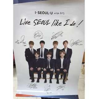 BTS I Seoul U Poster