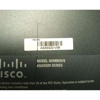 Cisco ASA5520-BUN-K9, Adaptive Security Appliance ( firewall )
