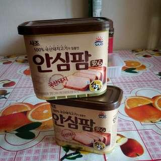 韓國午餐肉340g  2 罐
