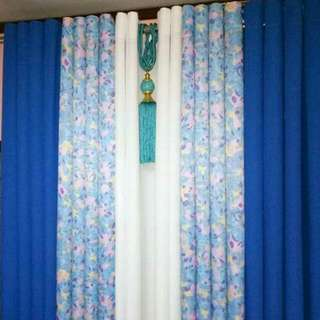 Elegant Curtain 5in1 with tassel