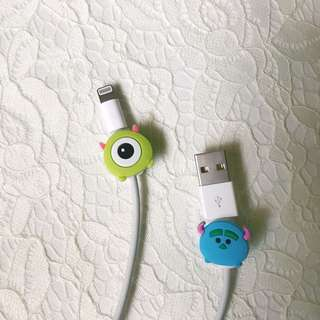 Iphone Character Cord Protectors