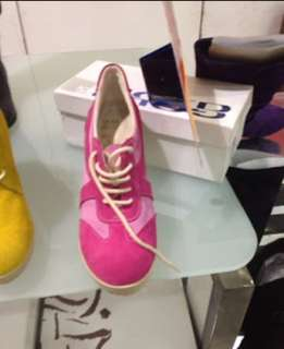 Pink Italia Wedge