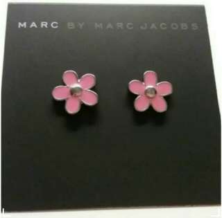 MARC BY MARC JACOB DAISY STUDS PINK名牌 耳環 生日禮物 女朋友
