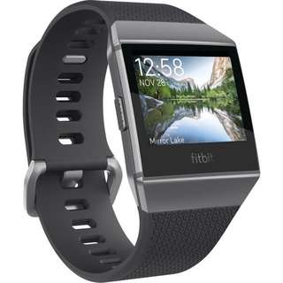 Fitbit Ionic (charcoal/smoke grey)