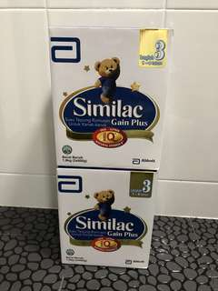 Refill packaging similac 3