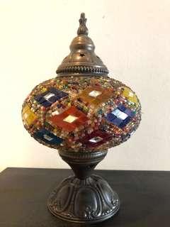 Ornate Turkish lamp