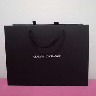 Paperbag armani exchange