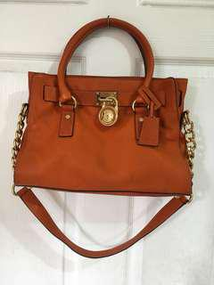 Michael kors mk hamilton bag not lv. Kate spade. Celine. Gucci. Givenchy. Tory burch
