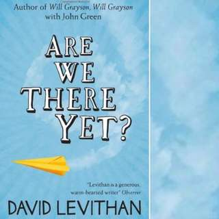 Are We There Yet? by David Levithan