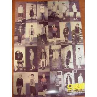 EXO The First Album XOXO Repackaged Poster