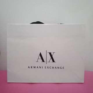 Paperbag armani exchange